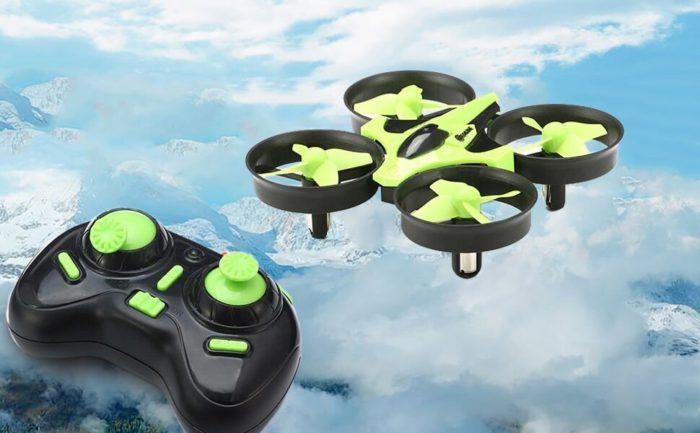 Mini dron Eachine E010 koupíte za 10,99$