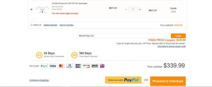 Xiaomi Mi Drone 4K nyní jen za 339$ a bez DPH