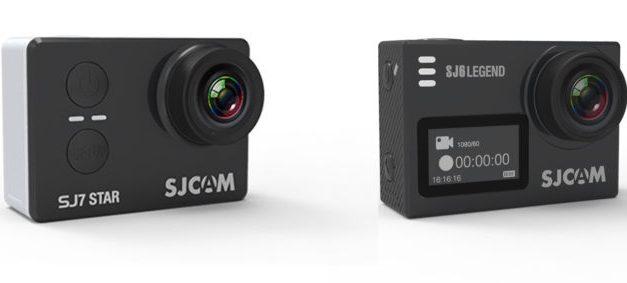 Tyto 4 akční kamerky koupíte nyní se zajímavou slevou