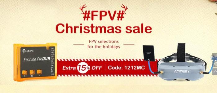 Nakupte si FPV vybavení s 15% slevou
