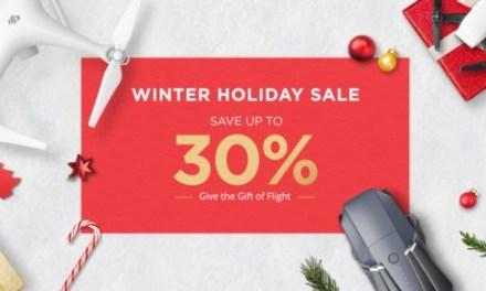 DJI Winter Sale – další porce slev přímo od DJI
