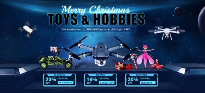 Vánoční slevy na drony u Gearu