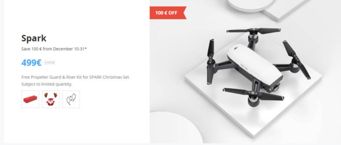 DJI Winter Sale - DJI Spark