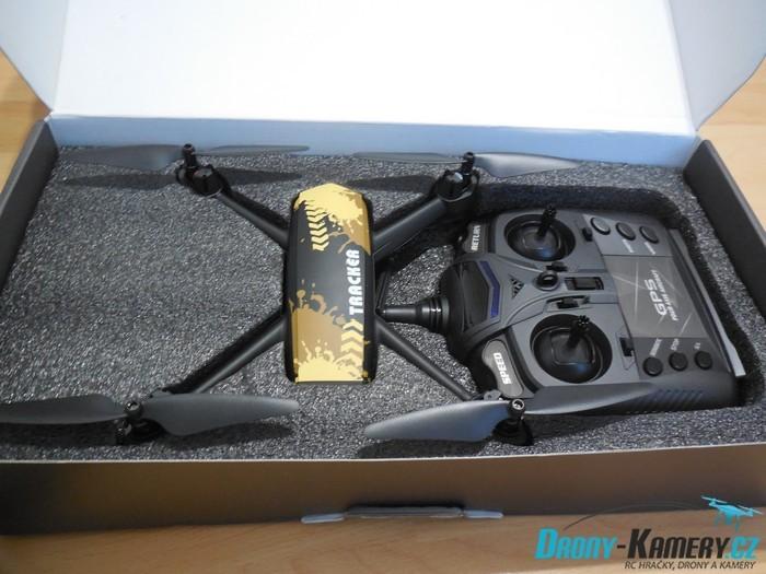 Unboxing JXD 518 – první pohled na levný dron s GPS