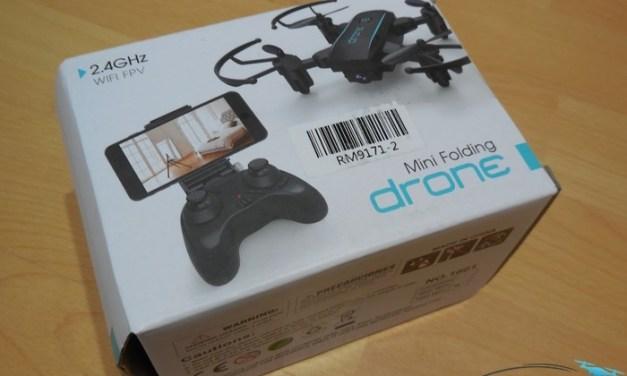 Unboxing Linxtech IN 1601 – první pohled na miniaturní skládací dron