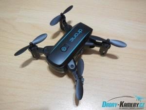Recenze Linxtech IN1601 - mini dron se skládacími rameny