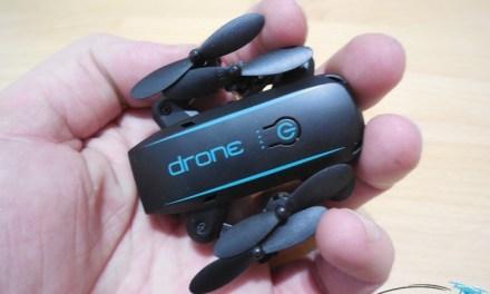 Recenze Linxtech IN1601 – mini dron se skládacími rameny