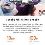 Tello - levný dron vyrobený ve spolupráci s DJI a Intel