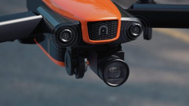 Autel Evo - senzory, kamera
