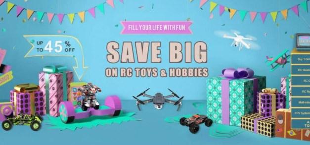 Velký únorový výprodej dronů a jiných RC hraček