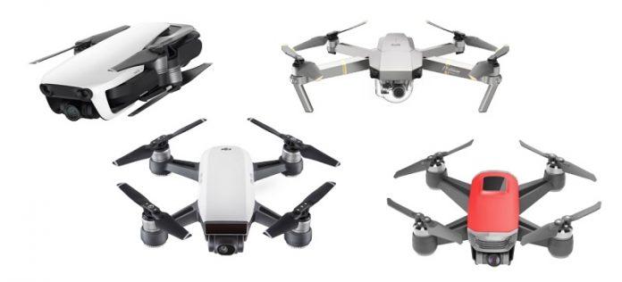 DJI Spark Fly More Combo za 549$ a další super ceny na DJI drony