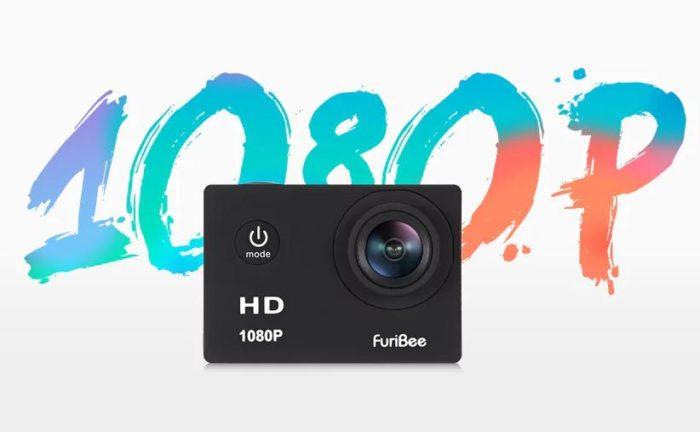 FuriBee F80 – akční kamerka s cenou jen 17,99$