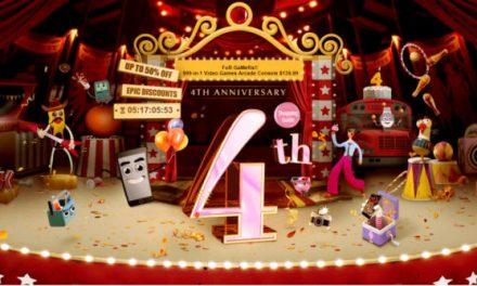 Oslavy 4. narozenin Gearbestu jsou v plném proudu