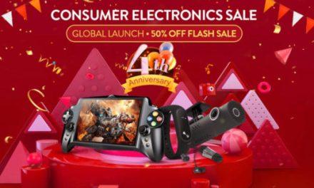 Výprodej elektroniky k 4. narozeninám Gearbestu