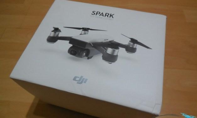 Unboxing DJI Spark Fly More Combo – první pohled a seznámení s příslušenstvím
