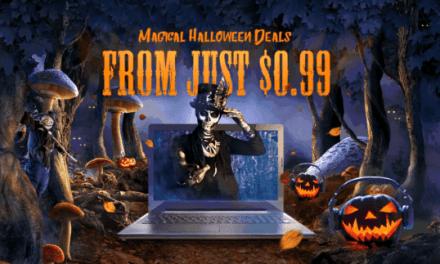 Halloweenský výprodej na Gearbestu