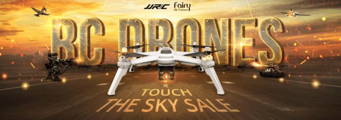 Dotkni se nebe s drony ve slevě na Gearu