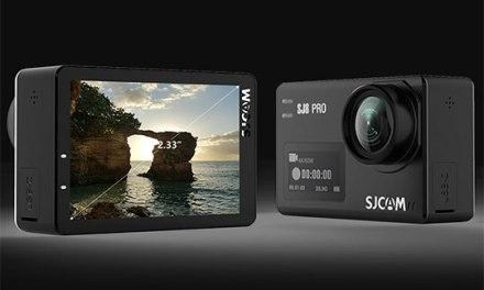 Špičková 4K kamera SJCAM SJ8 Pro z EU skladu za perfektní cenu
