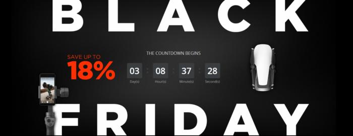 Přípravy na Black Friday u DJI vrcholí