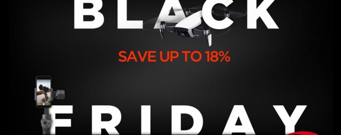 Black Friday na DJI Store v plném proudu
