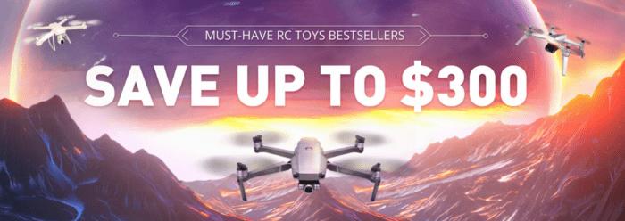 Výprodej dronů na Gearu