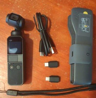 DJI Osmo Pocket - obsah balení