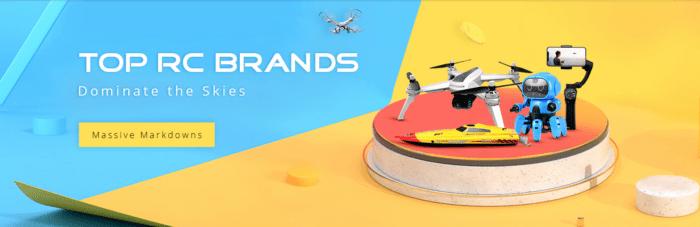 Drony JJRC a MJX ve výprodeji