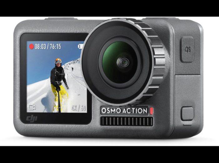 DJI Osmo Action – 4K/60 fps akční kamera 4K kamera