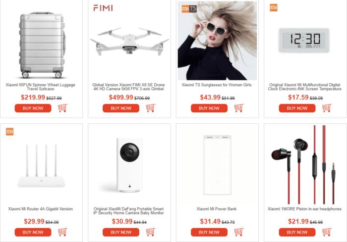 Xiaomi produkty