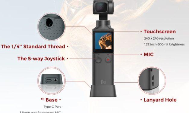 Skvělá 4K kamera Xiaomi Fimi Palm ve slevě