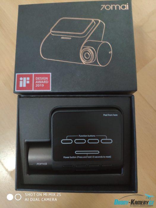 balení Xiaomi 70mai Dash Cam Pro