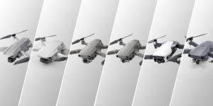 srovnání dronů DJI Mavic