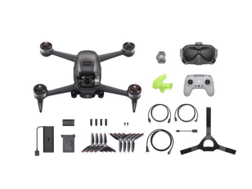DJI FPV dron - obsah balení