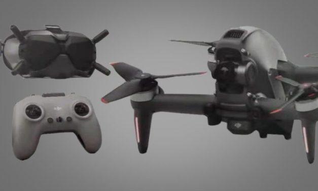 Spekulace: DJI FPV – DJI představí 1. závodní dron – co o něm víme?