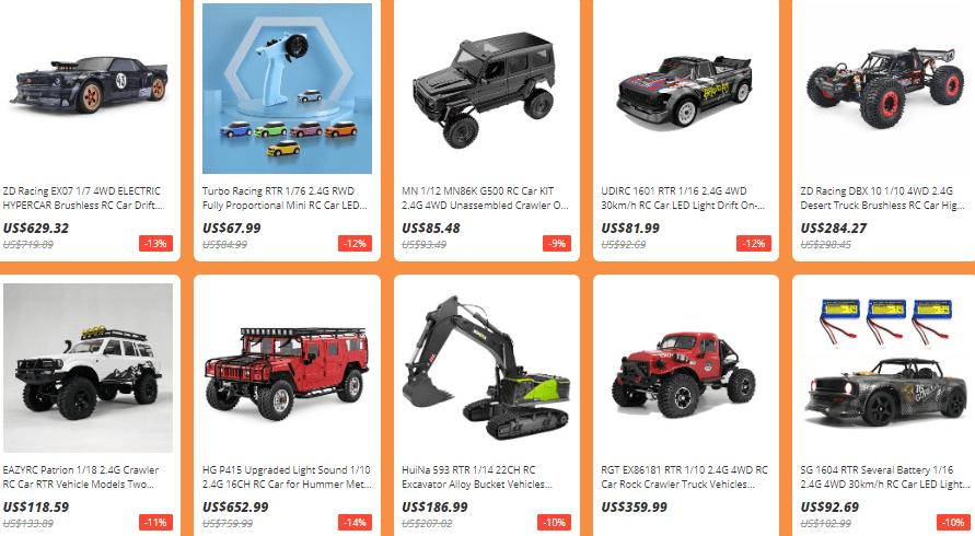 výprodej RC aut