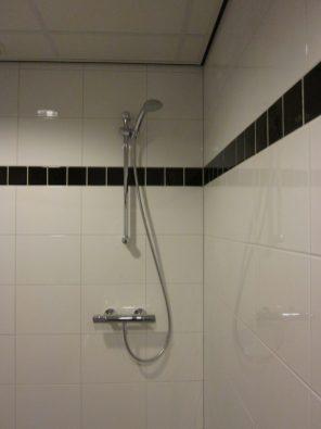 Doucheruimte in mindervalide toilet