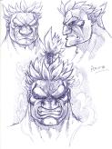 [Sketch Blog] More Assassin Fist