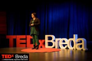 Esther van der Ham op TEDx Breda
