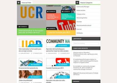 Blog sobre community managers