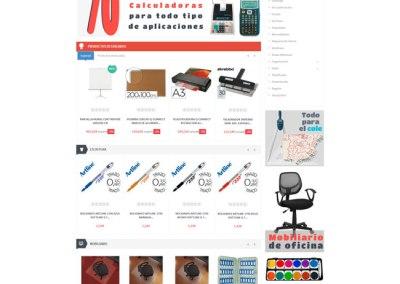 Tienda PrestaShop de material de oficina