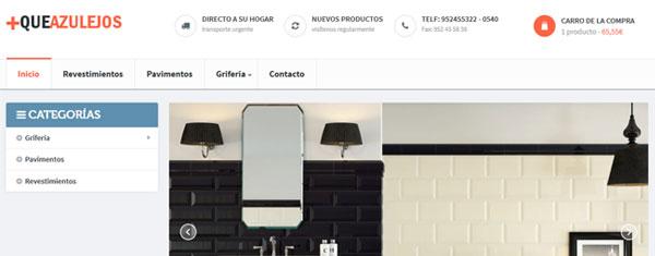 Otra tienda online en PrestaShop 1.6 que acabamos de lanzar