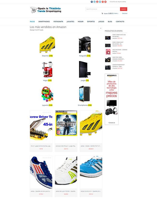 tiendas online afiliados amazon