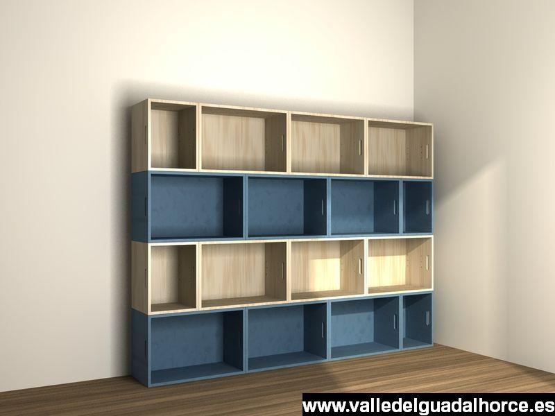 estanterias modulares