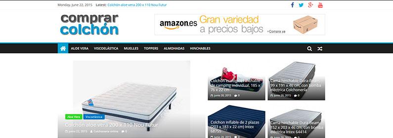 Blog de reseñas para programa de afiliados Amazon