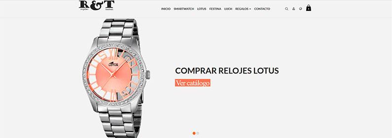 Tienda online para comercio tradicional de regalos y trofeos