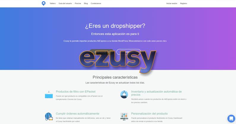 Ezusy, importador de AliExpress a WooCommerce GRATIS