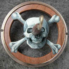 Skull and Crossbones by Golding