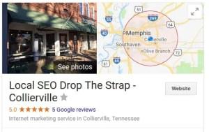 Memphis SEO Drop The Strap