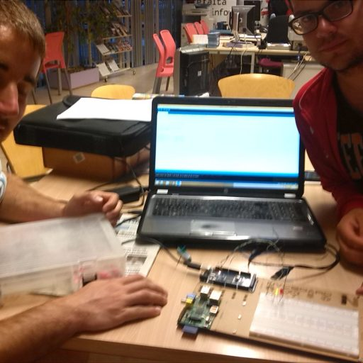 The introduction to the Arduino and Makers workshop