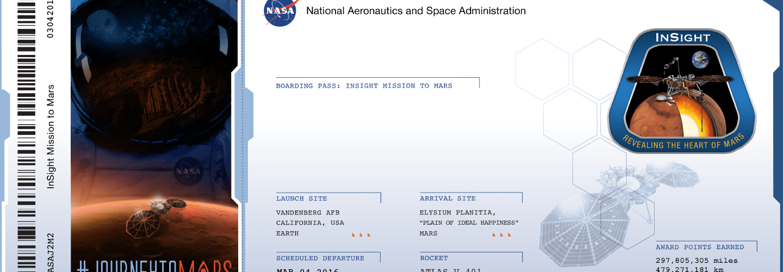 Nuestros nombres van a Marte gracias a la NASA